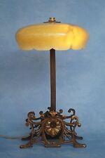 Unique Original Art Nouveau Table Lamp Decorated Brass 1920