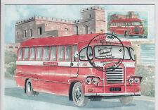 Maxi Card Malta Buses Bus - The end of an Era Gozo Mail Bus Malta built chassis