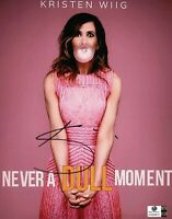Kristen Wiig Signed Autographed 8X10 Photo Never a Dull Moment SNL GV809870