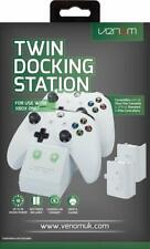 Xbox One Twin Docking Station with 2 x Rechargeable Battery Packs - White