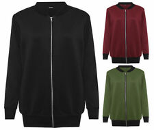 Polyester Unbranded Solid Plus Size Coats & Jackets for Women