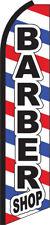 Barber Shop Swooper Flag Feather Super Bow Banner
