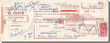 Traite - LE SUPER Vêtements de cuir à Saint-Maur 1953