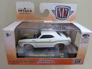 M2 MACHINES - Scale 1/64 1970 Dodge Challenger R/T 383 R18 - Mini Car D31