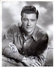 DENNIS MORGAN Vintage Autograph on 8x10 B&W Photograph, nicely signed
