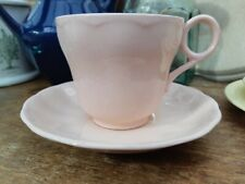 VINTAGE GRINDLEY PEACH PETAL TEA CUP & SAUCER - PINK  PETALWARE