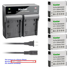Kastar Battery Rapid Charger for Panasonic DMW-BCM13 & Panasonic Lumix DMC-ZS50