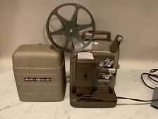 VINTAGE BELL & HOWELL 8MM MOVIE PROJECTOR MODEL 253 AX Works