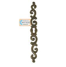 180mm Antik Messing Wappen Rückenplatte Ausgefallene Eingeschalten Tür
