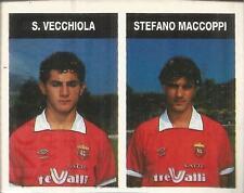 [AA] FIGURINA CAMPIONI & CAMPIONATO 1990/91-ANCONA-VECCHIOLA-MACCOPPI