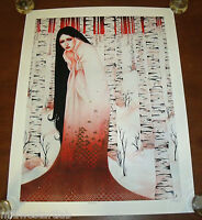 Sylvia Ji Art Print The Bandit S/# 100 Day Of The Dead Native American Poster