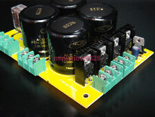 Power supply for audio power amplifier NOVER with UPC1237 speaker protect Solder