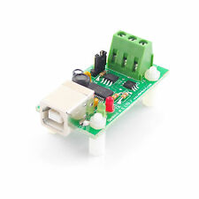 USB to 1-Wire interface card with FT232RL & DS2480B chipset + DS18S20 sensor
