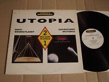 UTOPIA - OOPS! WRONG PLANET / ADVENTURES IN UTOPIA - 2 GREAT ALBUMS - 2 LP