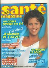 santé magazine 126 - special beauté - soleil - spasmophilie - maigrir -
