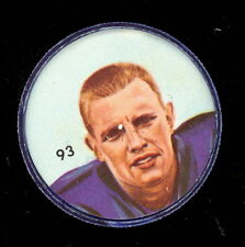 1963 CFL NALLEY'S POTATO FOOTBALL SP COIN 93 JACK DELVEAUX WINNIPEG BLUE BOMBERS