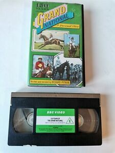RARE 150 YEARS OF THE GRAND NATIONAL AINTREE HORSE RACING VHS VIDEO TAPE TESTED