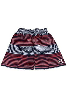 Under Armour Boys Swim Trunks Size 6 Red White And Blue NWT