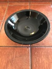 Antique Black Glass Bowl