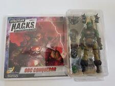 Vitruvian HACKS Green Orc Conqueror 4-Inch Action Figure by Boss Fight Studio