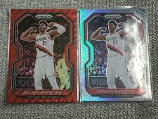 2020-21 Panini Prizm Hassan Whiteside Red Wave and Silver Prizm