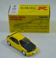 Honda CIVIC Type R 1999 Hong Kong Ed. Vintage Neo YELLOW Tomica LTD Tomy Tomytec