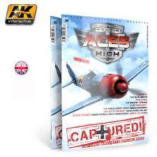 Ak Interactive Book - Aces High Magazine, Captured! Akbook2914