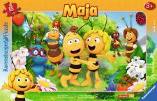 15 Teile Ravensburger Kinder Rahmen Puzzle Biene Maja Biene Majas Welt 06121