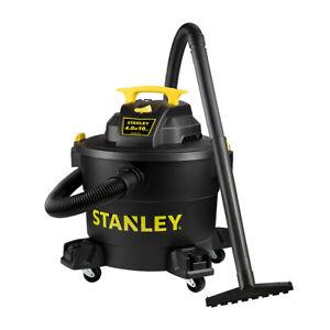 Stanley SL18191P Heavy Duty Portable 10 Gallon Wet Dry Shop Vacuum Cleaner