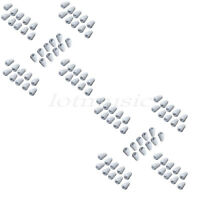 100 Pcs 5 Way Switch Guitar Cap for Strat Guitar Parts Replacement White
