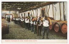 Conducao de Vinho Gordon & Co Stores Madeira 1910c postcard