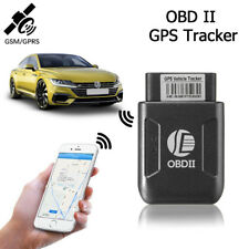 OBD II Car Vehicle GPS Tracker GSM Truck APP Realtime Mini Spy Tracking Device