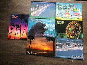 Lot Of (7) Myrtle Beach South Carolina Postcards