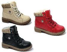 Winter-Schuhe für Mädchen aus Kunstleder mit Reißverschluss