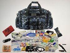 Emergency Medical Trauma Kit Bag Stocked First Responder Supplies EMT/EMS