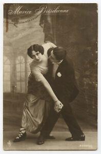 1910s Dance Dancer BALLROOM DANCING Brazilian Maxixe vintage photo postcard