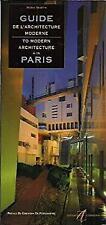 Guide De L'architecture moderne/ Guide to Modern Architecture a/in Paris