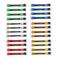 Cyalume Snaplight Light/Glow Sticks 24 Pack (Green, White, Red, Yellow, Blue..)