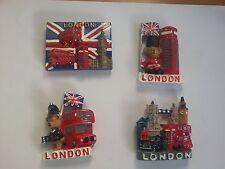 Souvenir  3D FRIDGE MAGNET -4 LONDON ICONS - SOUVENIR -FREE FIRST CLASS POSTAGE
