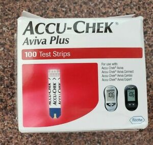 100 Accu Chek Aviva Retail Glucose Test Strips