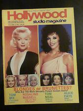 Hollywood Studio Magazine Jan/Feb 1984 Tom MIX Rosalind RUSSELL Joan HACKETT