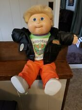 Vintage 1989 Airborne Division Cabbage Patch doll, Blue eyes. original clothes