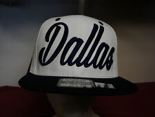 "Leader  Mens ""DALLAS"" Baseball cap new snapback"