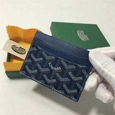 Goyard Card Holder Wallet Blue