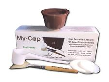 My-Cap's 1 Reusable/Refillable Capsules for Nescafé Dolce Gusto Brewers | Compat