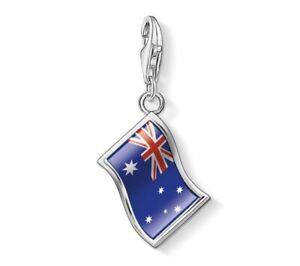 THOMAS SABO Sterling Silver Australian Austrailia Flag OZ Charm ~ NEW in Pouch