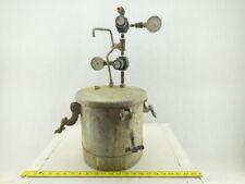 28 Gal 80 Psi Zinc Coated Steel Paint Pressure Tank Pot