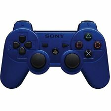 Official Sony PS3 PlayStation 3 Wireless Dualshock 3 Controller Blue Genuine VG