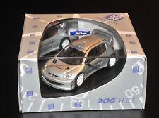 PEUGEOT 206 WRC 'TEST CAR' 'MULETTO' 2000 IXO ALTAYA 1:43 SKID SHOWCASE