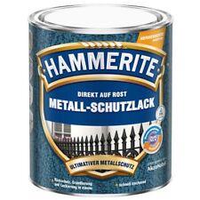 Hammerite Metall Schutzlack Hammerschlag 0,750 ml dunkelgrau Lack Rostschutz